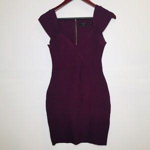 Deep purple Bodycon Dress by Guess sz M